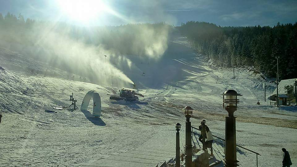 Smještaj na skijalištu Ravna planina