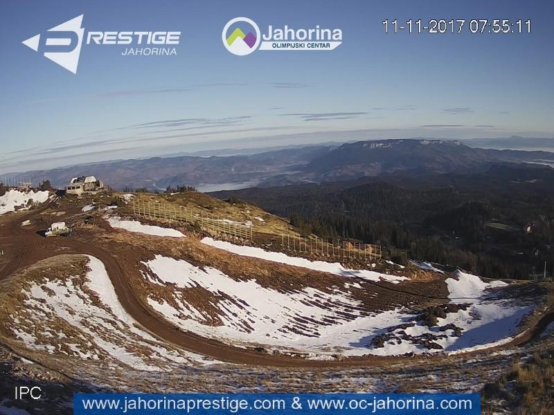Web kamere Jahorina, Ravna planina, Trebević