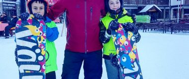 Škola snowboard na Jahorini