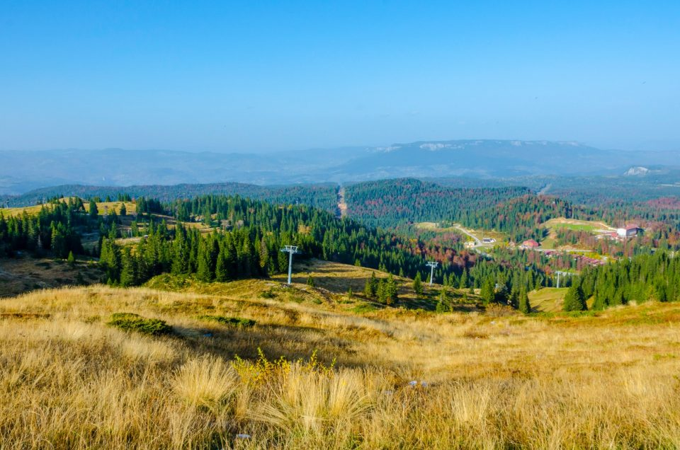 Jahorina loopster, tower, skydive i alpine coaster